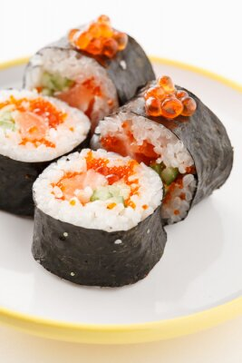 Fototapeta smaczne sushi