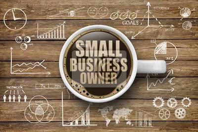 Fototapeta Small Business Właściciel