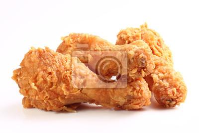 Fototapeta Smażony kurczak