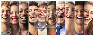 Fototapeta Śmiech ludzi