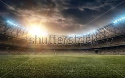 Fototapeta soccer field