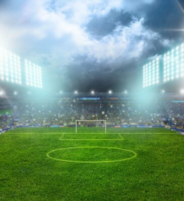 Fototapeta Soccer, stadium, field.