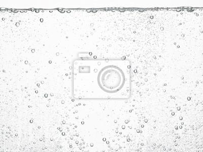 Fototapeta soda water bubbles