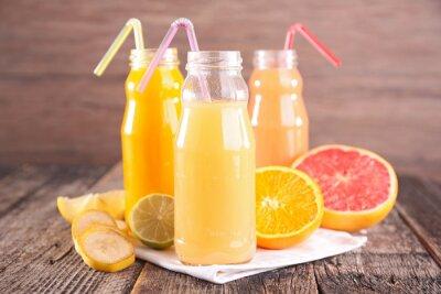 Fototapeta sok owocowy