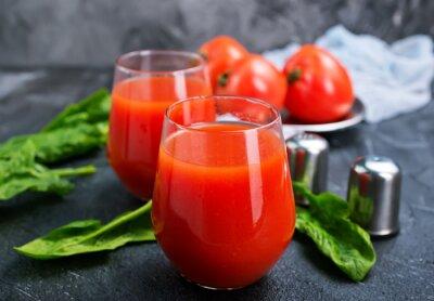 Fototapeta sok pomidorowy