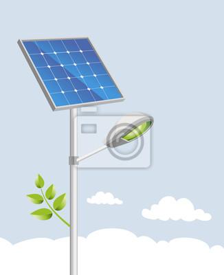 Solar lampy uliczne