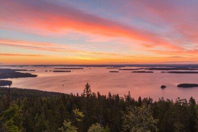 Fototapeta Sonnenaufgang w Koli