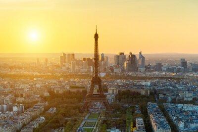 Fototapeta Sonnenuntergang w Paryżu