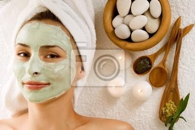 Spa Facial Mask.Dayspa