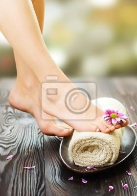 Fototapeta Spa Feet