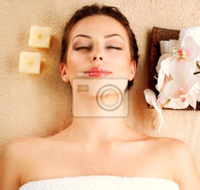 Spa Salon piękności dziewczyny