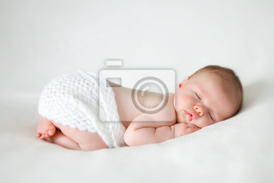 Fototapeta spania noworodka