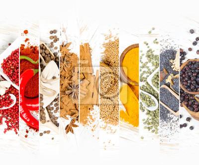 Fototapeta Spice Mix Paski
