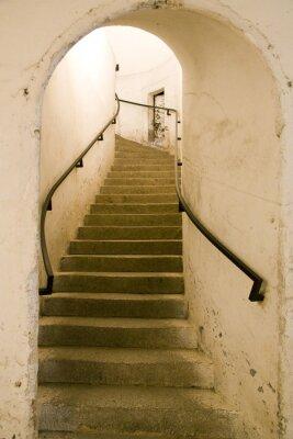 Fototapeta Spiralne schody w Lich