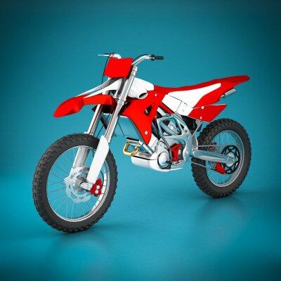 Fototapeta Sport motocyklowy