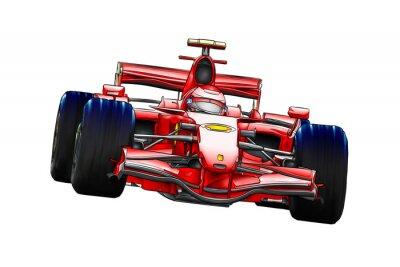 Fototapeta sport samochodowy szybkość