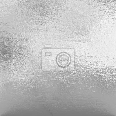 Fototapeta Srebrna folia