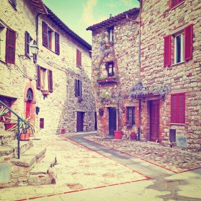 Fototapeta Średniowieczne miasto