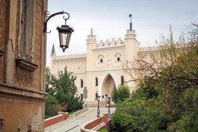 Fototapeta Średniowieczny zamek królewski w Lublin, Polska