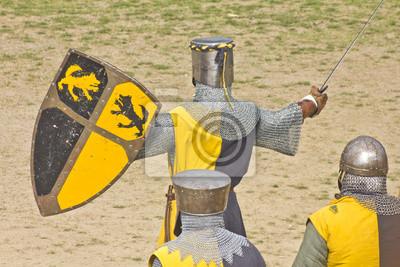 Średniowiecznych wojowników