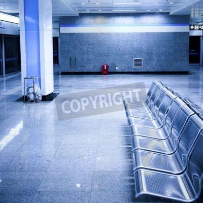 Fototapeta stacja metra