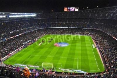 Fototapeta Stadion Camp Nou Podczas ceremonii otwarcia meczu FC Barcelona przeciwko Sevilli