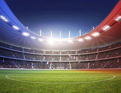 Fototapeta Stadion kolorowe światła France 2