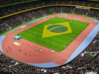 Fototapeta Stadion lekkoatletyczny 2