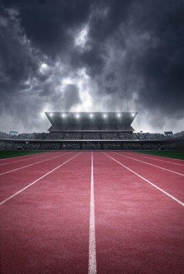 Fototapeta stadion lekkoatletyczny