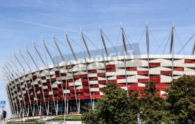 Fototapeta Stadion Narodowy w Warszawie
