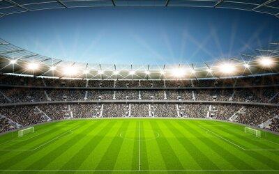 Fototapeta Stadion Seitenlinie neutralne