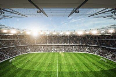 Fototapeta Stadion trybuny Widok z górnego