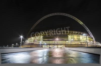 Fototapeta Stadion Wembley w nocy