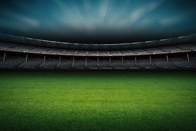 Fototapeta Stadion z boiska do piłki nożnej