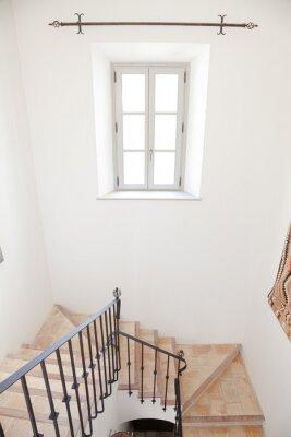 Fototapeta Staircase of luxury home