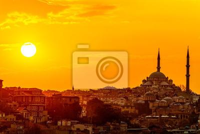 Fototapeta Stambuł słońca
