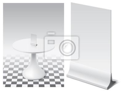 stanąć na menu do tabeli w wnętrze