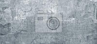 Fototapeta Stara metalowa tekstura, szeroki prześcieradło chromu żelaza tło