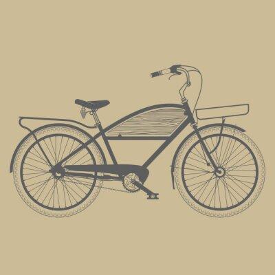 Fototapeta Stare klasyczne rocznika rower