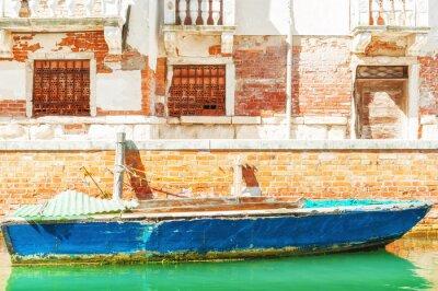 Fototapeta Stare łodzi w Wenecji.