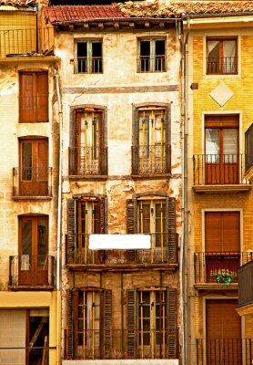 Fototapeta Stare miasto w Hiszpanii