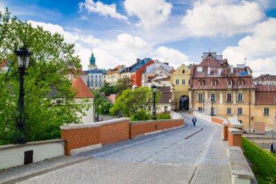 Fototapeta Stare miasto w mieście Lublin, Polska