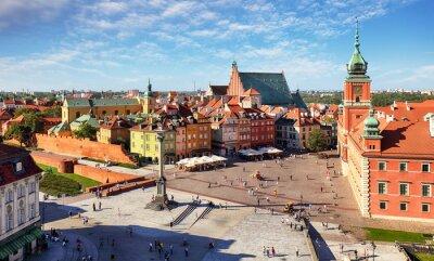 Fototapeta Stare Miasto w Warszawie, Polska