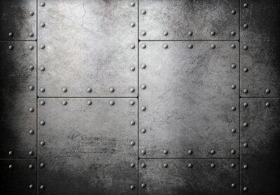 Fototapeta stare stalowe metaliczne tło