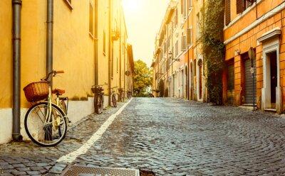 Fototapeta Stare ulicy w Rzymie, Włochy