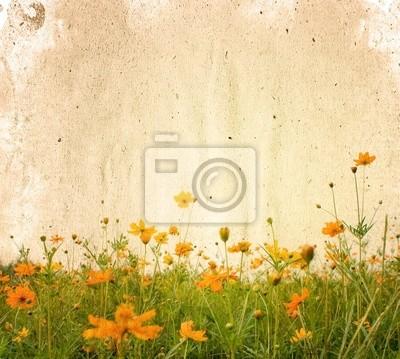 staromodny artystycznych kwiat