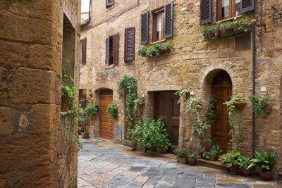Fototapeta Starożytny aleja w Toskanii