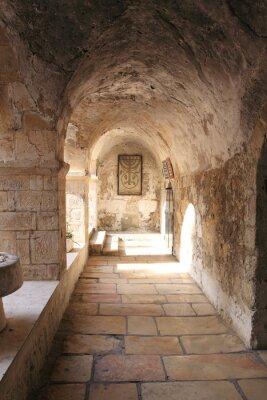 Fototapeta Starożytny Alley w dzielnicy żydowskiej, Jerozolima, Izrael