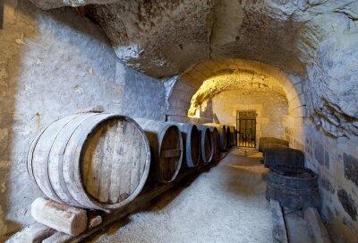 Fototapeta starożytny winiarnia w tuf