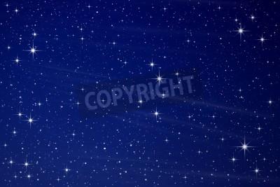 Fototapeta Stars in the night sky